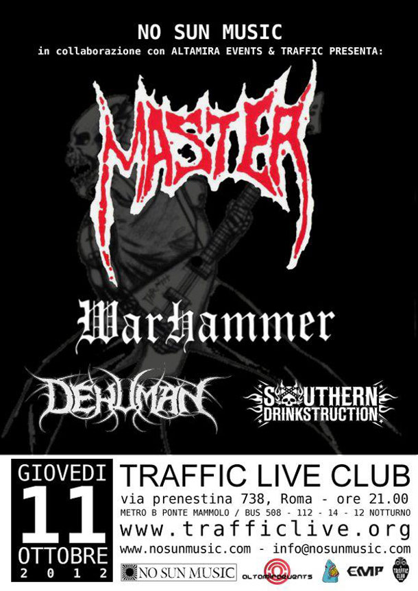 Master - Warhammer - Traffic Club