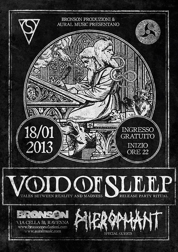 Void Of Sleep release party