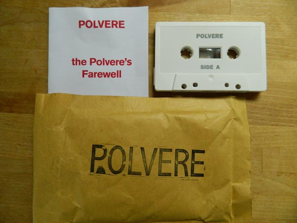 Polvere, case - tape - sheet