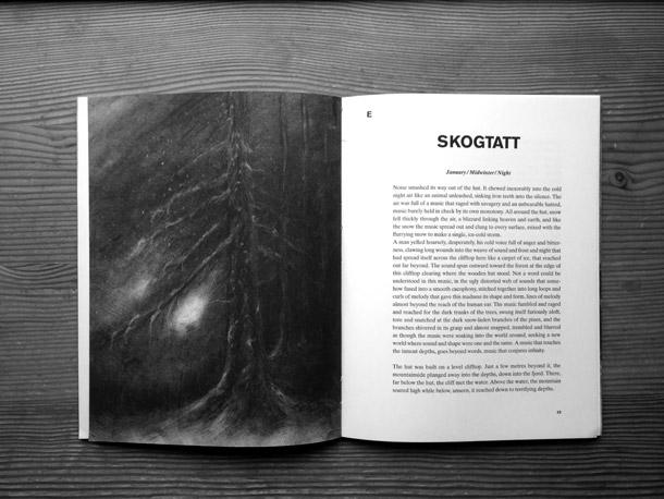 Skogtatt, illustrazioni di Faith Coloccia