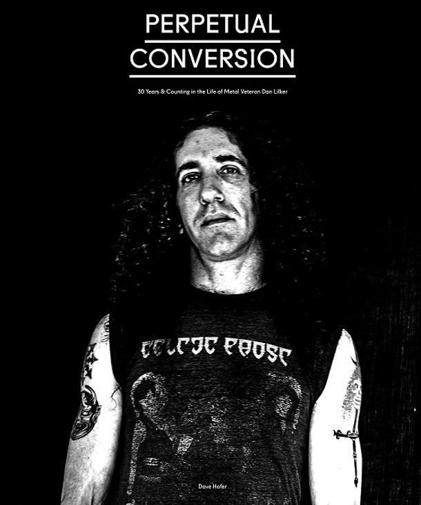 Dan Lilker, copertina dell'autobiografia