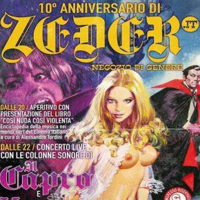 Il decimo anniversario di Zeder al Glue