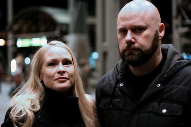 Runhild e Lasse