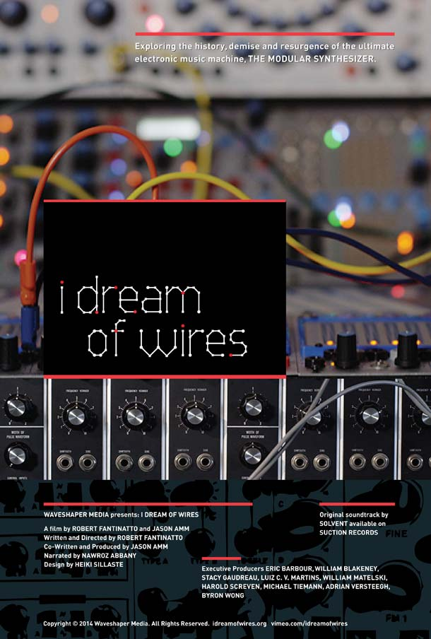 I Dream Of Wires - Theatrical Poster