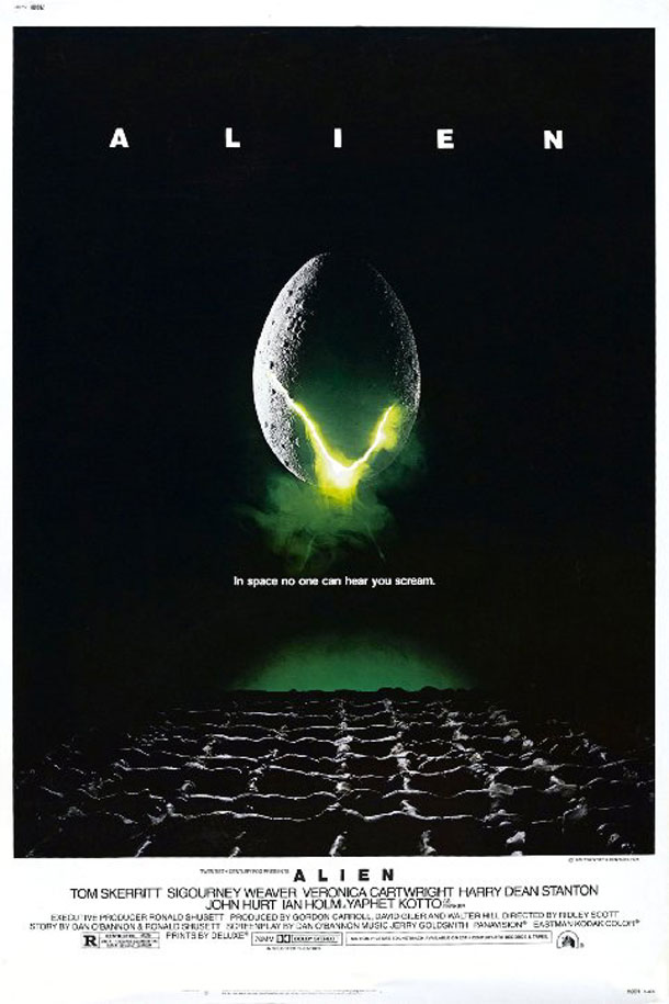 In space no one can hear you dream: Alien, Goldsmith, Mathieu