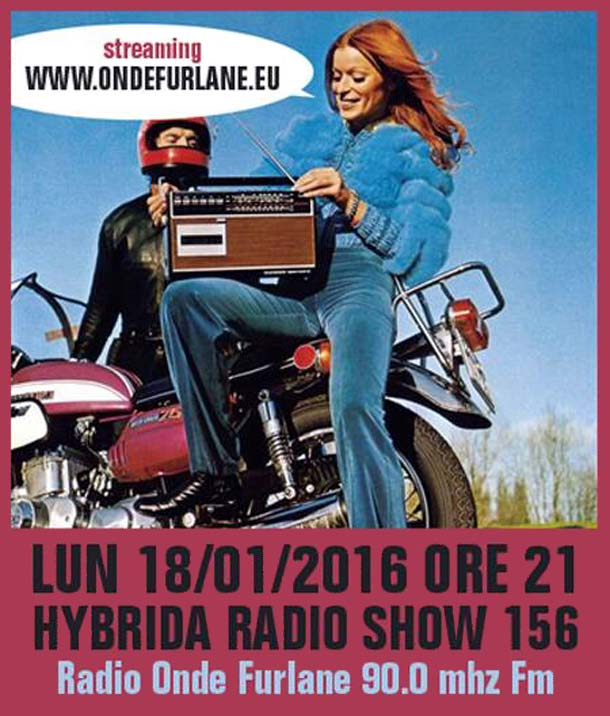 Hybrida Radio Show, puntata 156