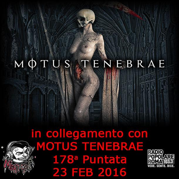 Night Shift - Centosettantottesima Puntata (Motus Tenebrae)