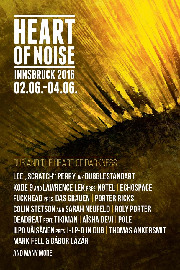 Chi c'è all'Heart of Noise (Innsbruck) di quest'anno