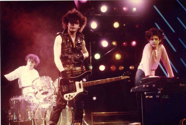 The Cure 1982 - Belgio