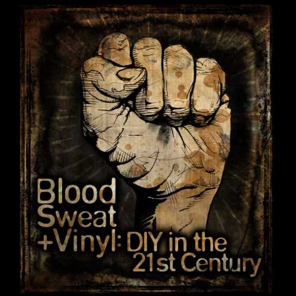 Blood Sweat Vinyl DIY