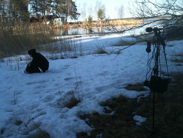 Faith Coloccia (in Finlandia, foto di Aaron Turner)