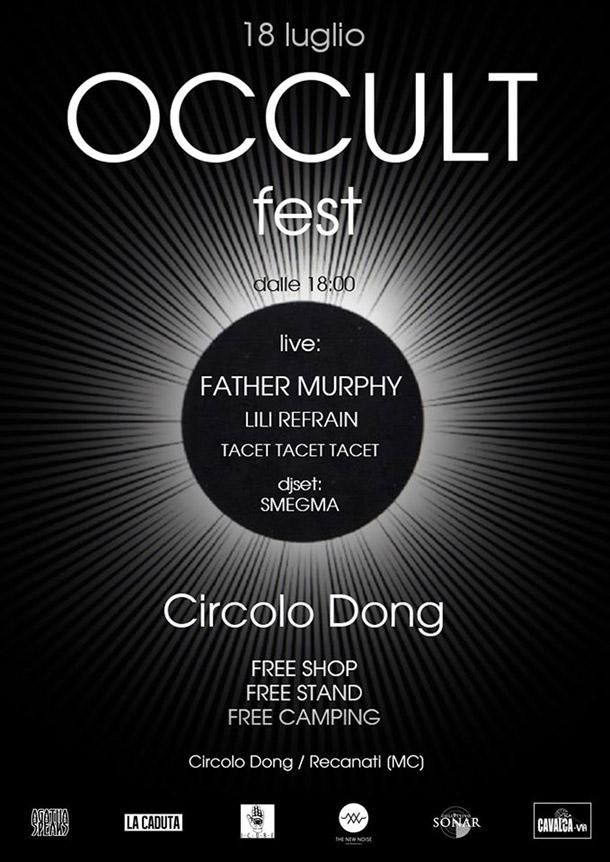 Il 18 luglio a Recanati c'è l'Occult Fest