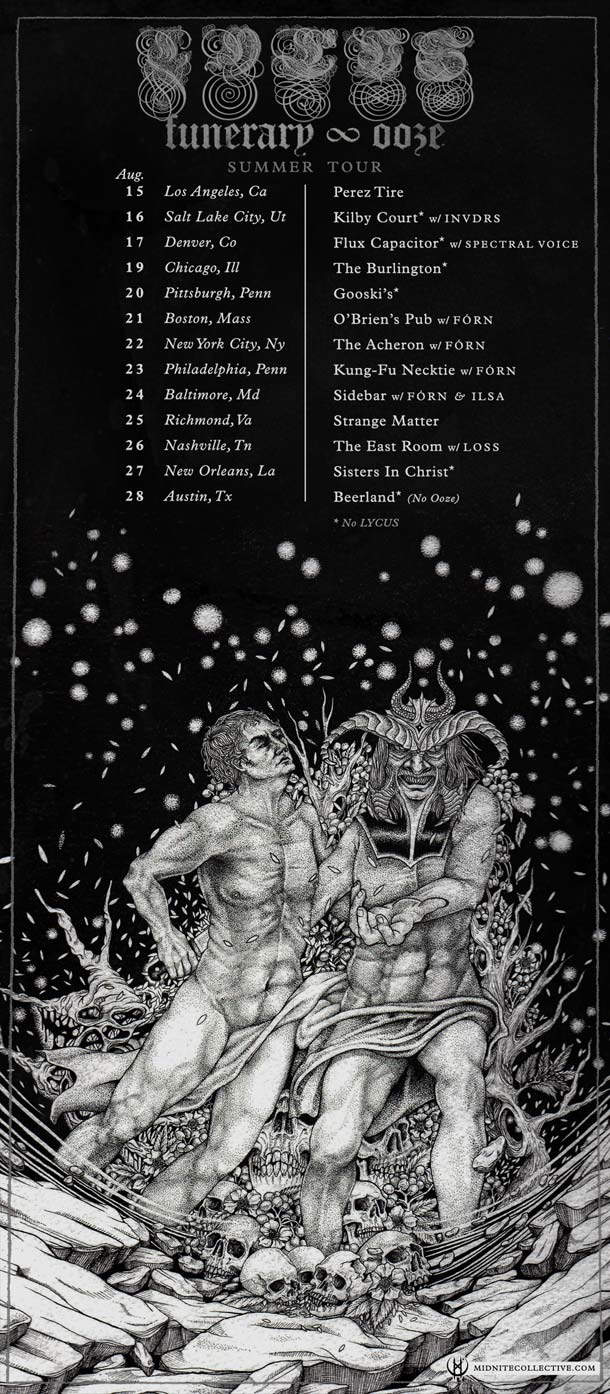 Funerary - Ooze summer tour