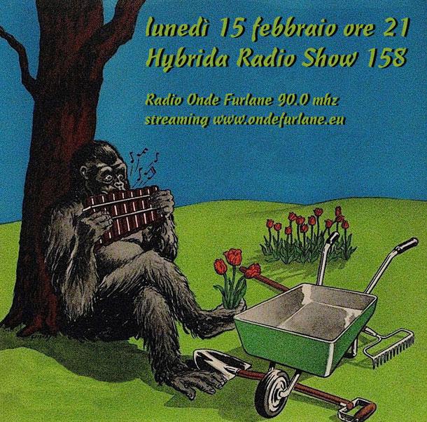 Hybrida Radio Show, puntata 158