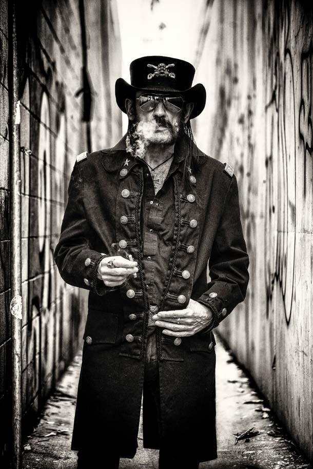 Lemmy Kilmister (credits Robert John)