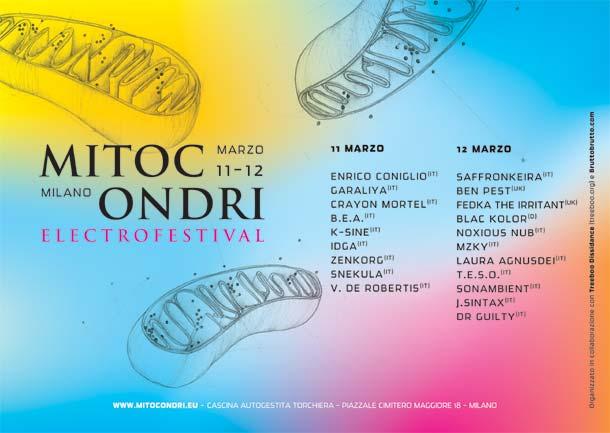 Saffronkeira, Enrico Coniglio e Ben Pest a Mitocondri (11-12 marzo, Milano)