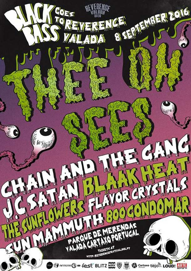 Reverence Festival: Thee Oh Sees in arrivo