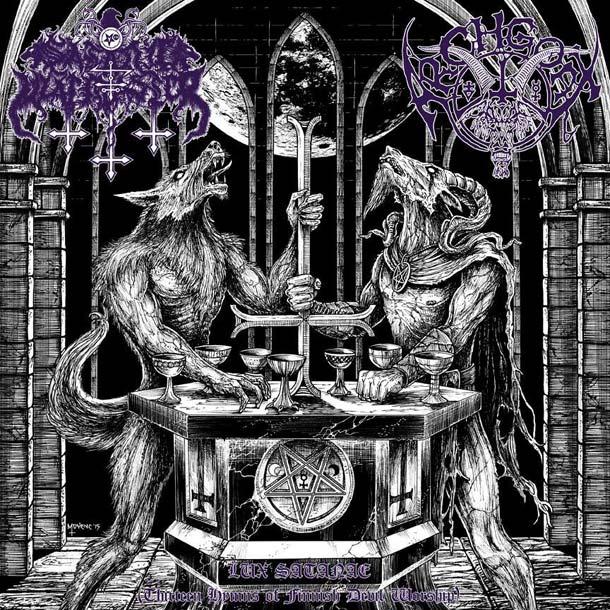 SATANIC WARMASTER / ARCHGOAT, Lux Satanae (Thirteen Hymns Of Finnish Devil Worship)