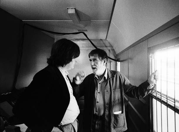 Gianni Sassi e John Cage