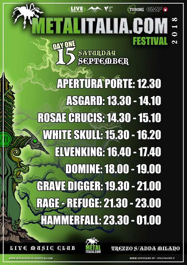 Metalitalia Festival 2018 - day 1
