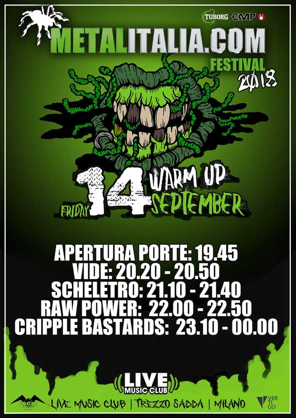 Metalitalia Festival Warm Up