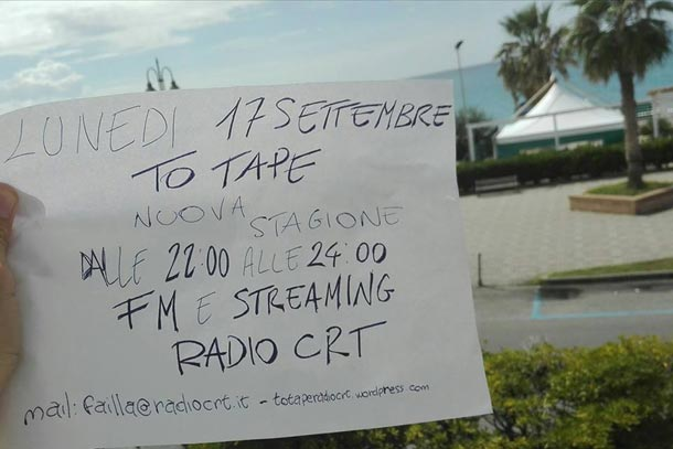 To Tape