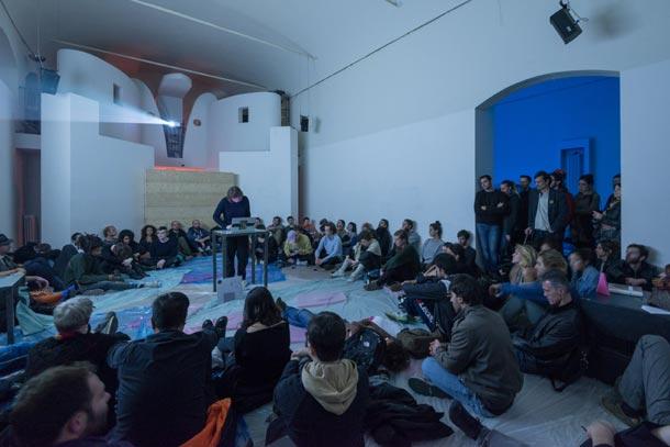 archivio Raum 2017 - Jasmine Guffond - Traced - live electronics - fotografo Luca Ghedini - courtesy Xing