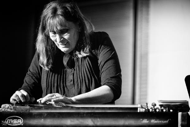 Susan Alcorn - foto di Nicola Malaguti