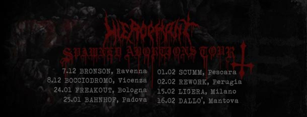 Hierophant - tour dicembre 18