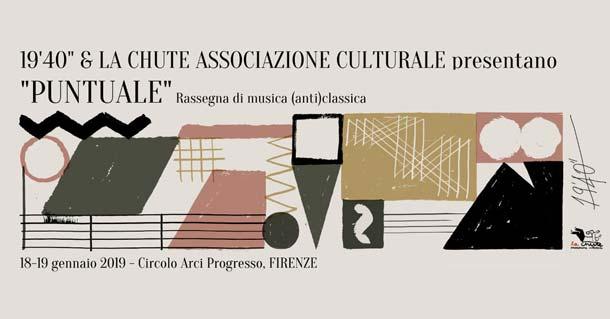 """Puntuale: prima edizione del festival di 19'40"""" a Firenze"""