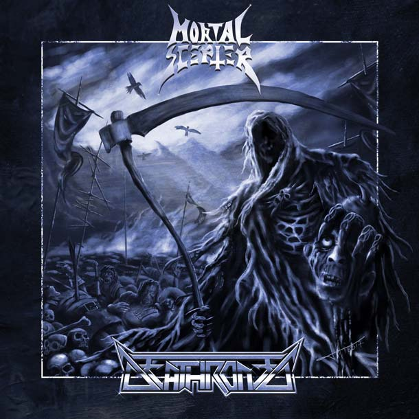 MORTAL SCEPTER / DEATHRONED, Split