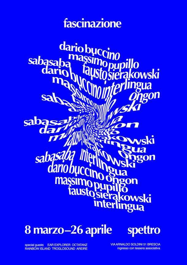 La programmazione di Spettro (BS) per marzo e aprile: Pupillo, SabaSaba, un festival organizzato coi Jooklo Duo
