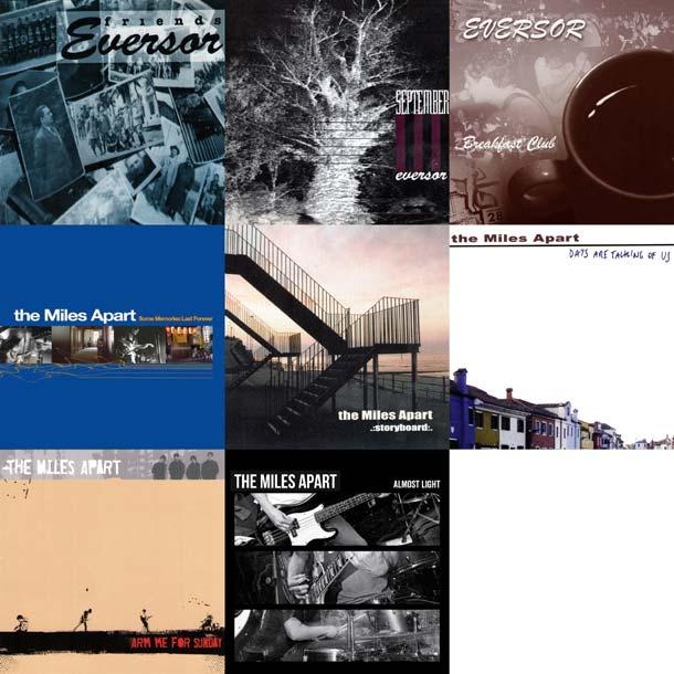 Eversor e The Miles Apart: discografia in streaming