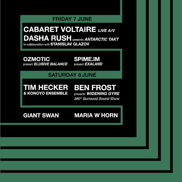 LOST: a giugno Cabaret Voltaire, Tim Hecker, Ben Frost e altri dentro il Labirinto della Masone (PR)