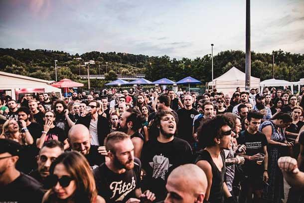2018: il pubblico del Frantic Fest - foto di DCE Music Photography