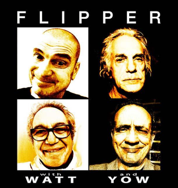 Flipper: tour europeo (3 tappe italiane) per il quarantesimo anniversario della band