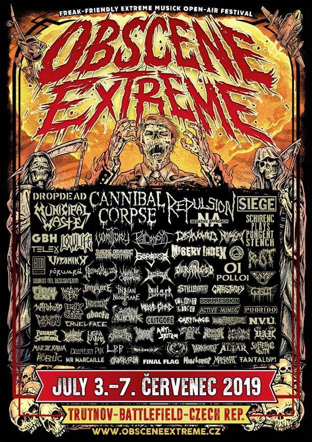 Obscene Extreme 2019