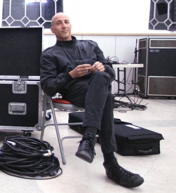 Sandro Mussida, foto di Rebecca Salvadori
