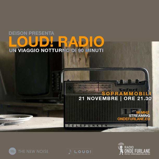 "LOUD! - ""Soprammobili"", 21.11.2019"