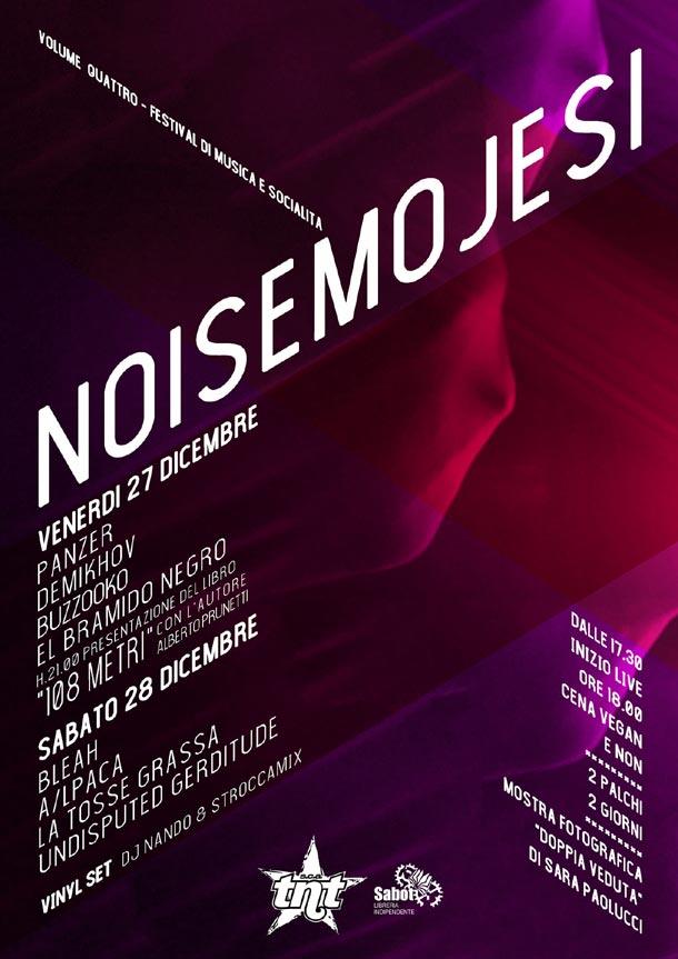 NOISEMOJESI Vol 4 at SCA TNT - Festival di musica e socialità