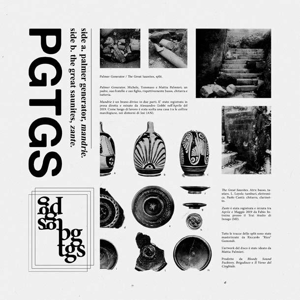 PALMER GENERATOR / THE GREAT SAUNITES, PGTGS [+ full album stream]