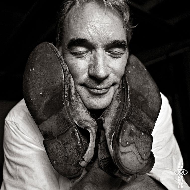 Paul Lovens, foto di Žiga Koritnik